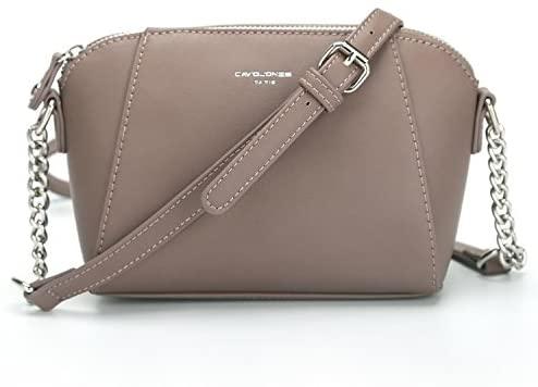 DAVIDJONES Women Crossbody Bags Pu leather Handbags: Buy Online at .