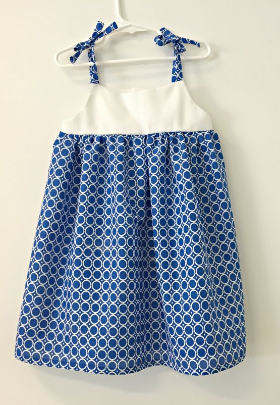 Free Pattern Sunny Day Toddler Dress (With images) | Toddler dress .
