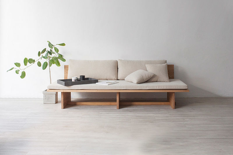 Raw Wooden Daybed Designs : daybed so