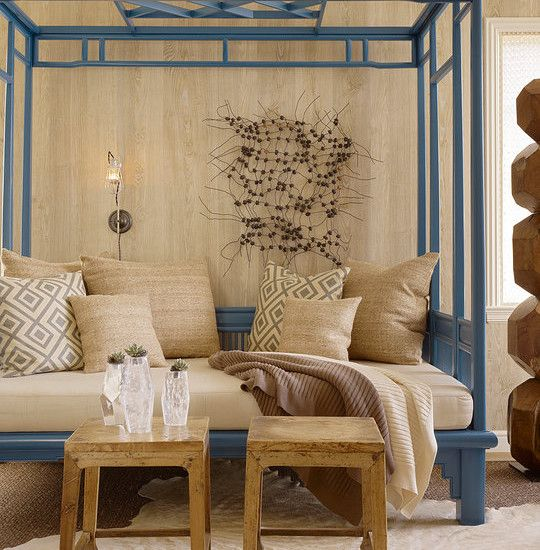 Excellent Full Size Daybed Designs: Tropical Living Room Asian .