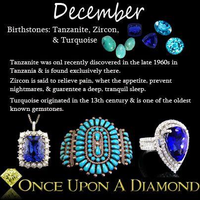 December Birthstone Information & Lore #December #Turquoise .