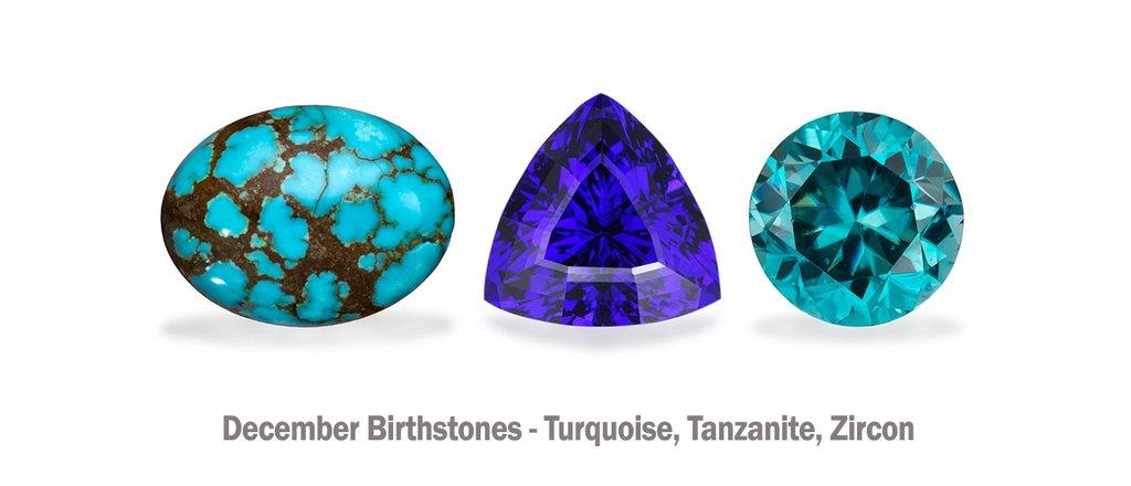 December Birthstones - Pyramid Studi