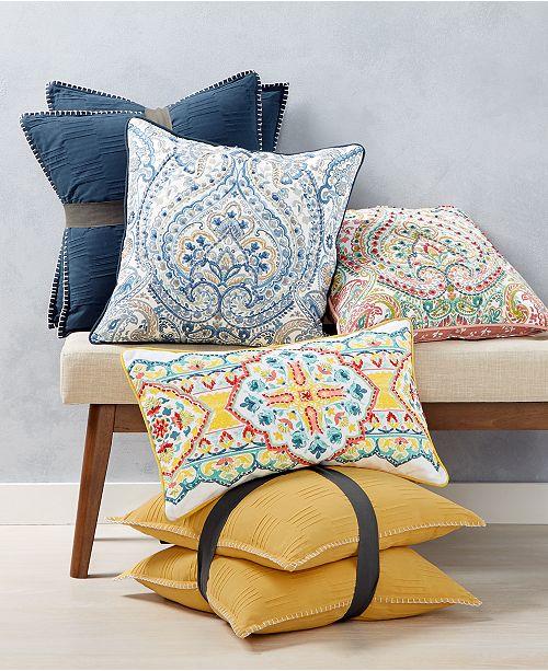 Lacourte CLOSEOUT! Pretty Prints Decorative Pillow and Throw .