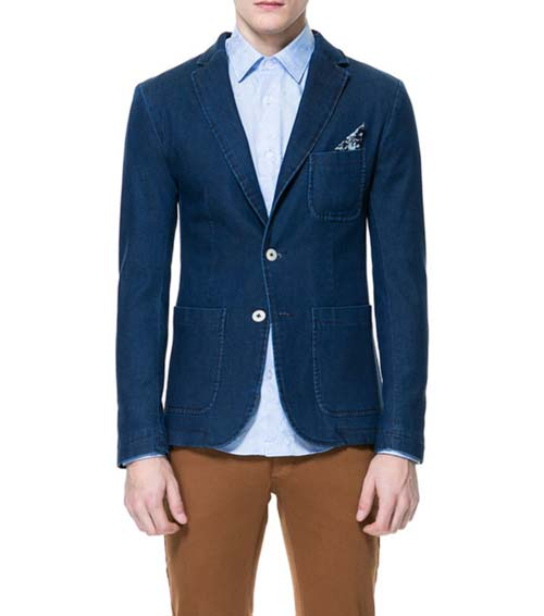 The Denim Blazer | Men's Fla