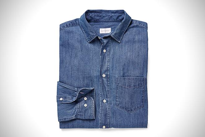 Feeling Blue: 10 Best Denim Shirts For Men | HiConsumpti