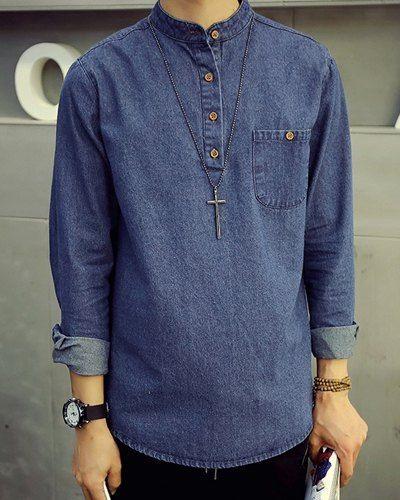 9 Popular & Comfortable Denim Tunics for Men and Wom