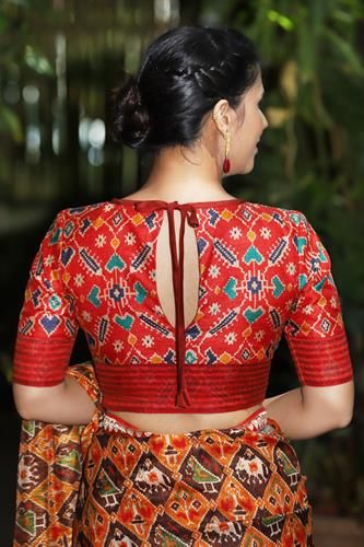 designer blouses (With images)   Trendy blouse designs .