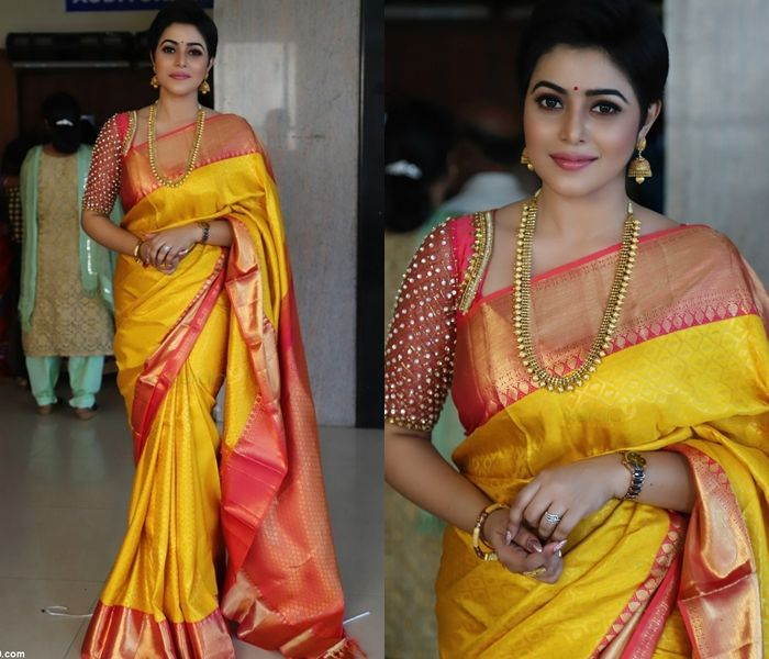 Need a New Blouse Idea For Silk Saree? Here is One | Pattu saree .