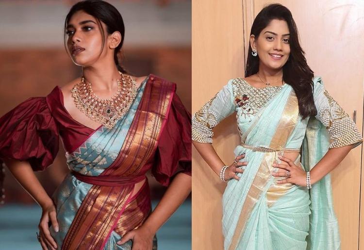 25 Latest Pattu saree Blouse Design Catalog