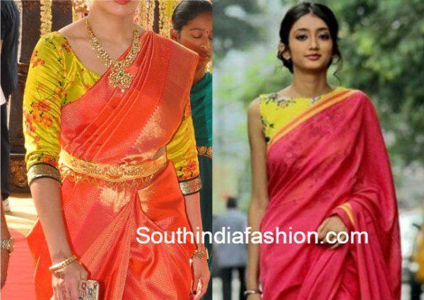 Top 20 Most Trending Blouse Designs For Silk Sarees (With images .