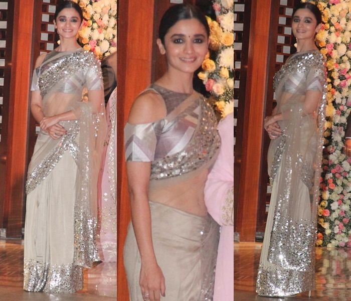 11 Must Try Designer Blouses For Net Sarees (With images)   Net .