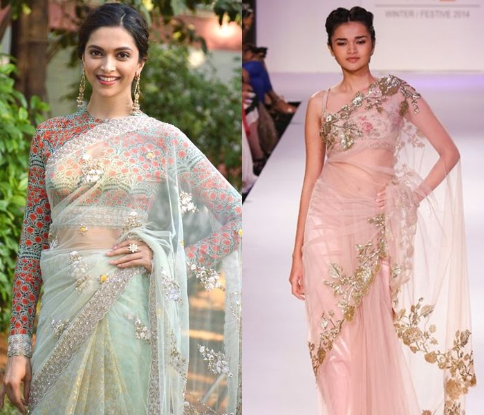 Designer Blouses For Net   Sarees