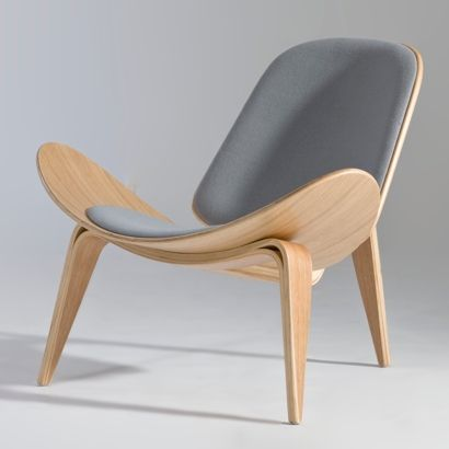 Hans J. Wegner- shell lounge chair | Furniture Design | Chair .