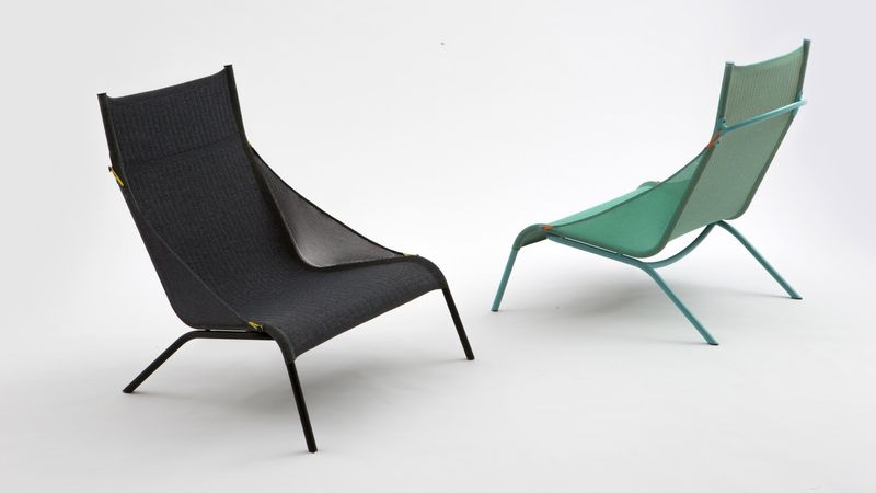 Knitted Designer Chairs : tent cha