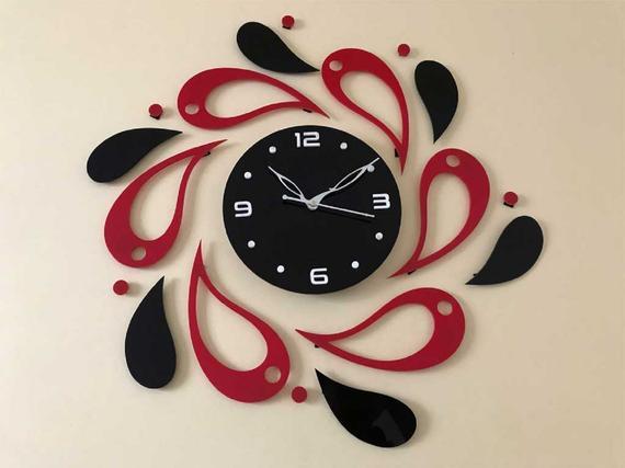 Acrylic Designer Wall Clock   Et