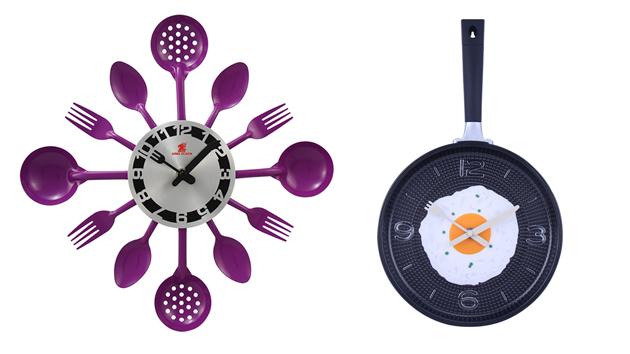 15 Excellent Designs of Kitchen Wall Clocks   Home Design Lov