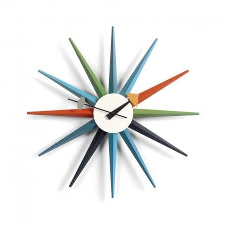 Buy Vitra Sunburst Clock: Multicolor by George Nelson, 1948-1960 .