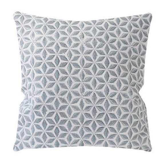 Walter G Textiles Designer Pillows //Hanami Light Blue Linen | Et