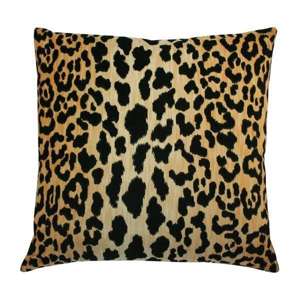 Leopard Velvet Designer Pillow – Arianna Bel