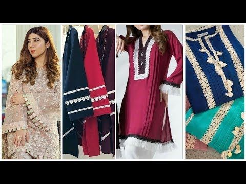 New lace Design Ideas On Salwar & Suit,top 40 suit designing with .