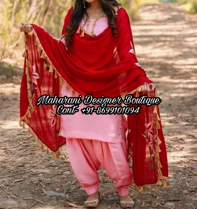 Latest designer Boutique Punjabi Suits in Jammu & Kashmir .