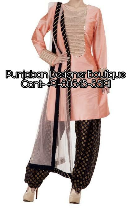 Boutique Salwar Suits Online Shopping | Punjaban Designer Boutiq