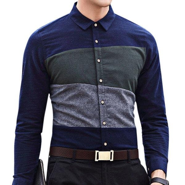 Designer Stylish Casual Stitching Cotton Long Sleeve Designer .