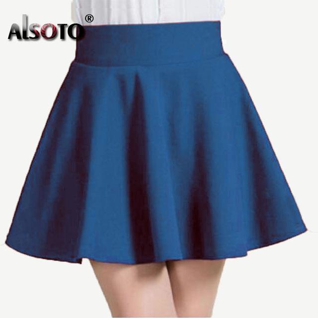 Women's Fashion Short Skater Mini Designer Skirts (Short .