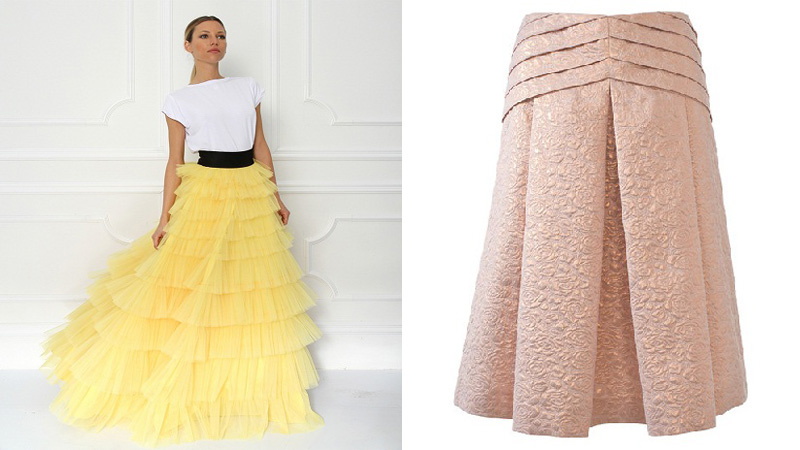 New Collection of Designer Skirts That Will Make You Feel All Want