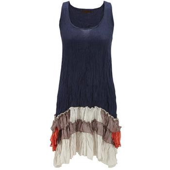 Women's Creative Crinkle Tunic/women Designer Tunics - Buy .