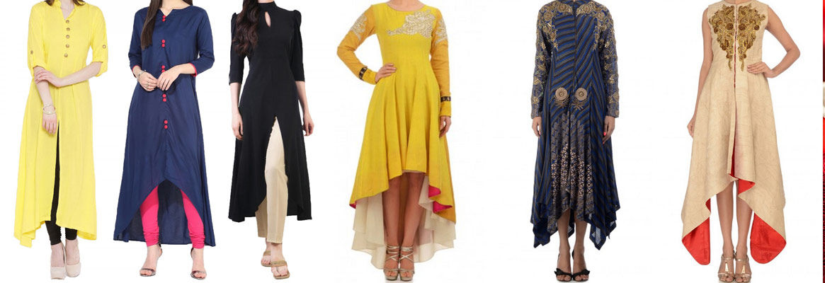 Designer Tunics, Georgette Fabric, Online Western Dress Tailors .
