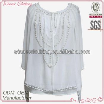 Trendy Style 3/4 Sleeve Latest Designer Tunics For Fat Women - Buy .