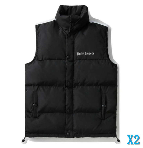 2019 Mens Designer Vest Jacket Hooded Thick Winter Brand .