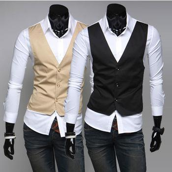 2020 Mens VestTop Designer Made Casual &Amp; Dress Slim Fit .