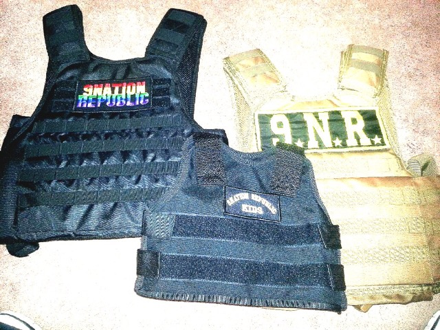 9 Nation Republic Vests