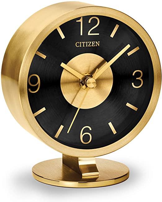 Amazon.com: Citizen Clocks Citizen CC1028 Decorative Desk Clock .