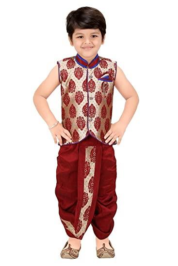 Buy Kute Kids Boys Ethnic Dhoti Kurta Set at Amazon.