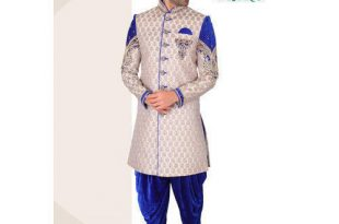 40 And 42 Embroidered Mens Designer Dhoti Sherwani, Rs 5200 /piece .
