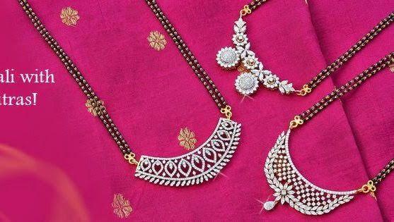 10 Different Styles Diamond Mangalsutra | Diamond mangalsutra .
