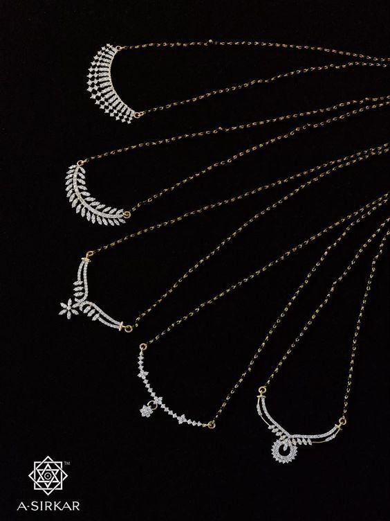 Mangalsutra Designs 2020 | Gold mangalsutra designs, Diamond .