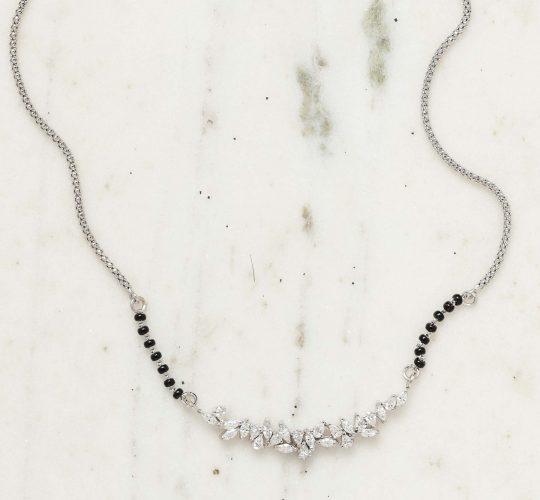 Designer Diamond Mangalsutra Pendant | Trance by Sampat Jewelle