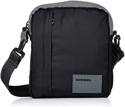 Amazon.com: Diesel Men's Discover ME Crossbody Bag, black, UNI .