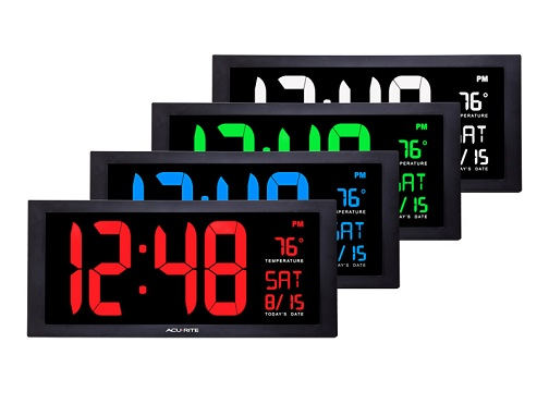 25 Different Types Of Digital Clock Designs With Pictures In Ind