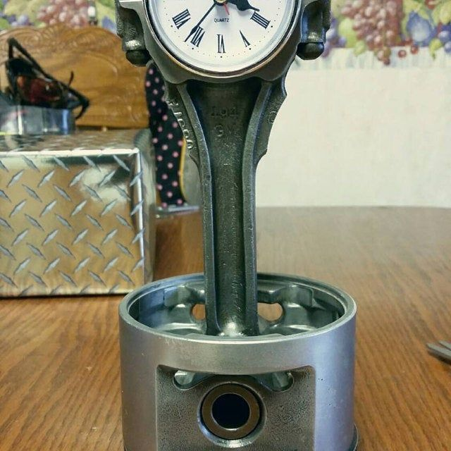 Small Block (SBC) Chevy Piston Clocks (different engine size and .