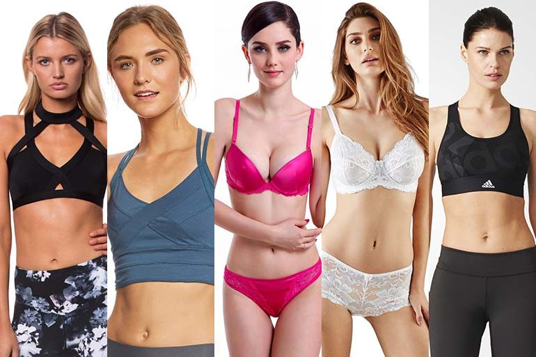 25 Different Types & Styles of Bras: Complete List of Bra Designs