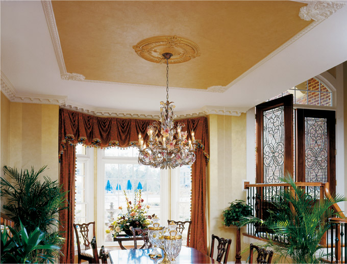 Dining room ceiling ideas - large and beautiful photos. Photo to .