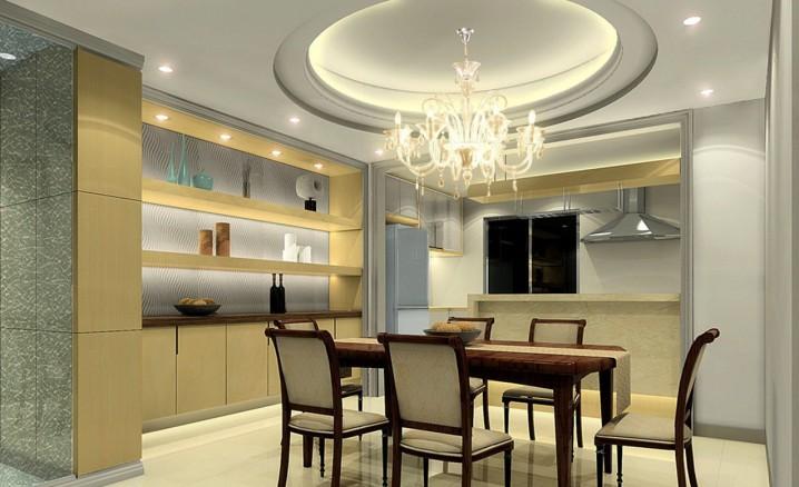 16 Impressive Dining Room Ceiling Desig