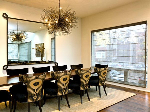 20 Lovely Dining Room with Stunning Mirrors | Home Design Lov