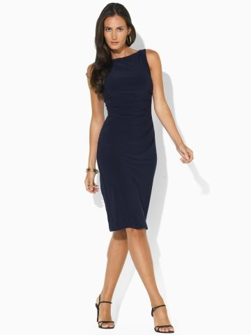 casual rehearsal dinner dress | Dinner dress, Dresses, Ruched .