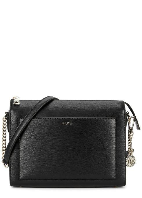 Bryant medium leather shoulder bag - DKNY (With images) | Dkny bag .